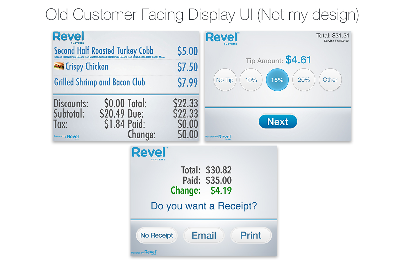 old-customer-facing-display-ui